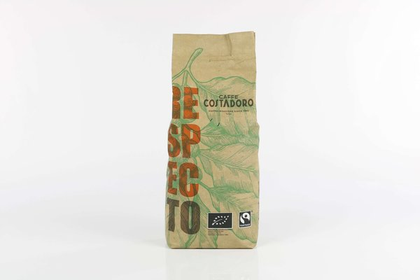 Costadoro RESPECTO Bohne - BIO&FAIRTRADE, 1kg - IT-BIO-005
